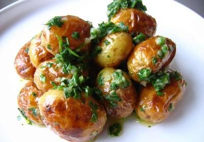 pomme de terre beurre salé