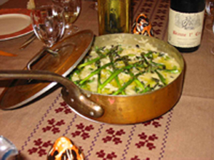 risotto asperges