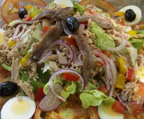 Recette de la v ritable salade ni oise - Cuisine tunisienne traditionnelle four ...