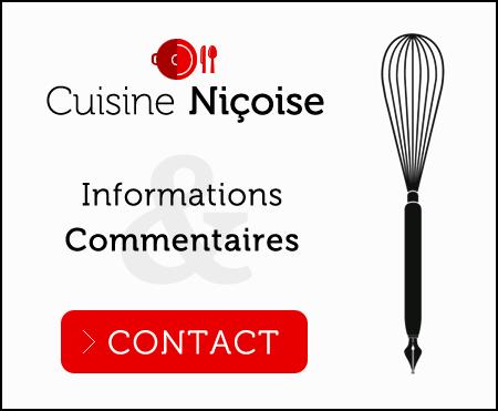 contact cuisine niçoise